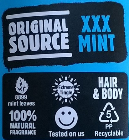 Original Source XXX Mint Back